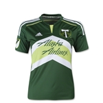 Portland Timbers 2015 Youth Home Soccer Jersey