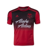 Portland Timbers 2015 Youth Away Soccer Jersey