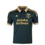 Portland Timbers 2015 Youth Third Soccer Jersey