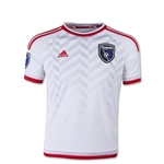 San Jose Earthquakes 2015 Youth Away Soccer Jersey