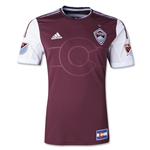 Colorado Rapids 2015 Authentic Home Soccer Jersey