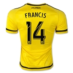 Columbus Crew 2015 FRANCIS Authentic Home Soccer Jersey