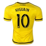Columbus Crew 2015 HIGUAIN Authentic Home Soccer Jersey