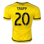 Columbus Crew 2015 TRAPP Authentic Home Soccer Jersey