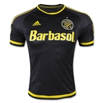 Columbus Crew 2015 Authentic Away Soccer Jersey