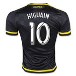 Columbus Crew 2015 HIGUAIN Authentic Away Soccer Jersey