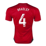 Toronto FC 2015 BRADLEY Authentic Home Soccer Jersey