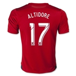 Toronto FC 2015 ALTIDORE Youth Home Soccer Jersey