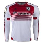 DC United 2015 LS Authentic Secondary Soccer Jersey w/ CCL Patch