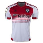 DC United 2015 Secondary Soccer Jersey w/ CCL Patch