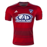 FC Dallas 2015 Authentic Home Soccer Jersey
