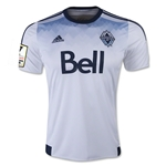Vancouver Whitecaps 2015 Home Soccer Jersey w/ CCL Patch