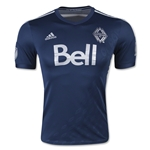 Vancouver Whitecaps 2015 Authentic Away Soccer Jersey