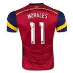 Real Salt Lake 2015 MORALES Authentic Home Soccer Jersey