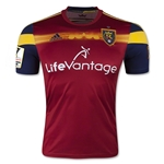 Real Salt Lake 2015 Authentic Home Soccer Jersey w/ CCL Patch