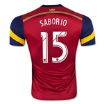 Real Salt Lake 2015 SABORIO Authentic Home Soccer Jersey