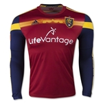 Real Salt Lake 2015 LS Authentic Home Soccer Jersey