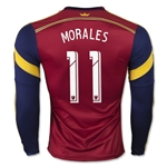 Real Salt Lake 2015 MORALES LS Authentic Home Soccer Jersey
