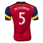 Real Salt Lake 2015 BECKERMAN Home Soccer Jersey
