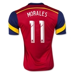 Real Salt Lake 2015 MORALES Home Soccer Jersey