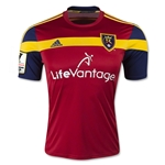 Real Salt Lake 2015 Home Soccer Jersey w/ CCL Patch