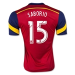 Real Salt Lake 2015 SABORIO Home Soccer Jersey