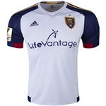 Real Salt Lake 2015 Authentic Away Soccer Jersey w/ CCL Patch