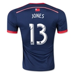 New England Revolution 2015 JONES Authentic Home Soccer Jersey