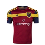Real Salt Lake 2015 Youth Home Soccer Jersey