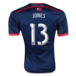 New England Revolution 2015 JONES Home Soccer Jersey