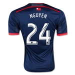 New England Revolution 2015 NGUYEN Home Soccer Jersey