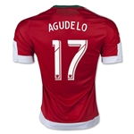 New England Revolution 2015 AGUDELO Away Soccer Jersey