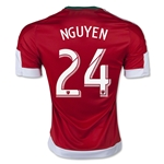 New England Revolution 2015 NGUYEN Away Soccer Jersey