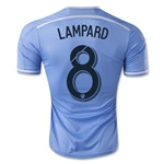 New York City FC 2015 LAMPARD Authentic Home Soccer Jersey