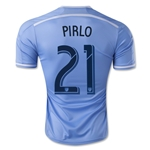 New York City FC 2015 PIRLO Authentic Home Soccer Jersey