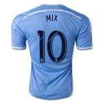 New York City FC 2015 MIX Home Soccer Jersey