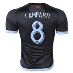 New York City FC 2015 LAMPARD Authentic Away Soccer Jersey