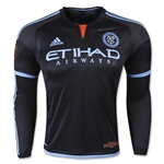 New York City FC LS Authentic Away Soccer Jersey