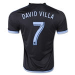 New York City FC 2015 DAVID VILLA Away Soccer Jersey