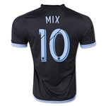 New York City FC 2015 MIX Away Soccer Jersey
