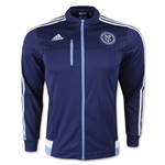 New York City FC Full Zip Anthem Jacket
