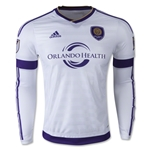 Orlando City 2015 LS Authentic Away Soccer Jersey
