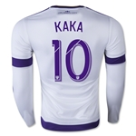 Orlando City 2015 KAKA LS Authentic Away Soccer Jersey