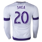 Orlando City 2015 SHEA LS Authentic Away Soccer Jersey
