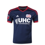 New England Revolution 2015 Youth Home Soccer Jersey