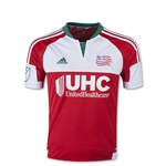 New England Revolution 2015 Youth Away Soccer Jersey
