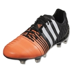 adidas Nitrocharge 1.0 FG (Core Black/White/Flash Orange)