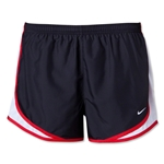 Nike Printed Tempo Women's Shorts (Bk/Wh/Red)