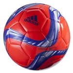adidas Conext15 Glider Soccer Ball (Solar Red/Night Flash/White)