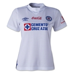 Cruz Azul 13/14 Women's Away Soccer Jersey